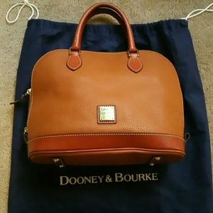 Dooney satchel bag